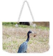 A Little Blue Heron Weekender Tote Bag