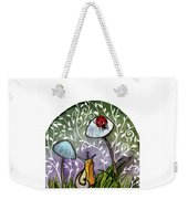 A Little Chat-ladybug And Snail Weekender Tote Bag
