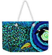 A Little Garden At The Edge Of The World Weekender Tote Bag