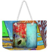 A Little Man Made Colour Weekender Tote Bag