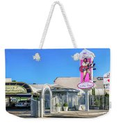 A Little White Chapel From The North 2 To 1 Ratio Weekender Tote Bag