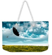A Little Windy Weekender Tote Bag