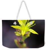 A Little Yellow Star  Weekender Tote Bag