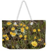 A Little Yellow Weekender Tote Bag