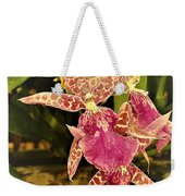 A Living Orchid Looks Like Animal Print Doesnt It So Beautiful Weekender Tote Bag