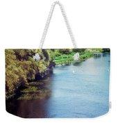 A Lone Boat Weekender Tote Bag
