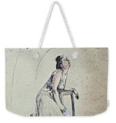 A Lonely Thought Weekender Tote Bag