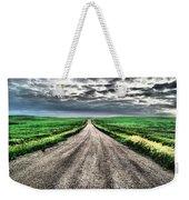 A Long Dakota Road Weekender Tote Bag