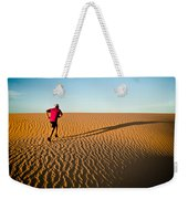 A Long Desert Run Weekender Tote Bag
