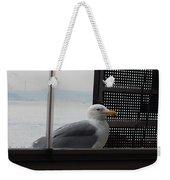 A Looking Seagull Weekender Tote Bag