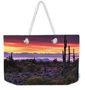A Magical Desert Morning  Weekender Tote Bag