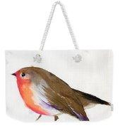 A Magical Little Robin Called Wisp Weekender Tote Bag