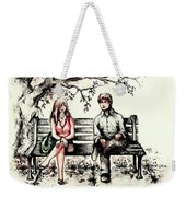 A Magical Moment Weekender Tote Bag by Rachel Christine Nowicki
