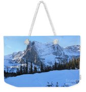 A Majestic Winter View Weekender Tote Bag