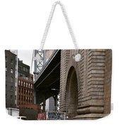 A Man And A Bridge Weekender Tote Bag