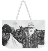 A Man And His Farm Weekender Tote Bag