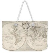 A Map Of The World Weekender Tote Bag