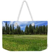 A Meadow In Lassen County Weekender Tote Bag