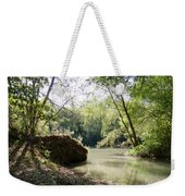 A Medina River Morning Weekender Tote Bag