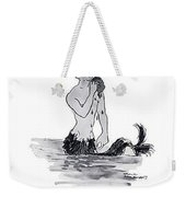 A Merman Weekender Tote Bag