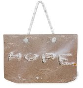 A Message On The Beach Weekender Tote Bag