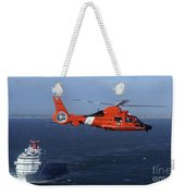 A Mh-65c Dolphin Helicopter Weekender Tote Bag