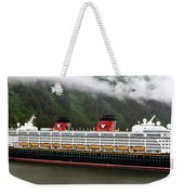A Mickey Mouse Cruise Ship Weekender Tote Bag