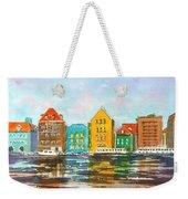A Modern Take On Curacao Weekender Tote Bag