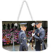 Face To Face During The Changing Of The Guard Weekender Tote Bag