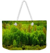 A Moment Of Green Weekender Tote Bag
