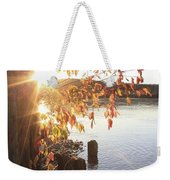 A Moment Of Pause Weekender Tote Bag