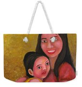 A Moment With Mom Weekender Tote Bag
