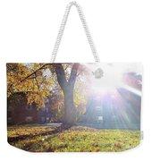 A Morning In Fall Weekender Tote Bag