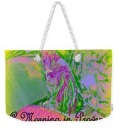 A Morning In Provence Weekender Tote Bag