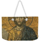 A Mosaic Of Jesus The Christ At St Weekender Tote Bag