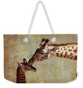 A Mother's Kiss Weekender Tote Bag