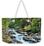 A Mountain River 2 Weekender Tote Bag