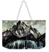A Mountain To Think About Weekender Tote Bag