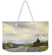 A Mountain View Weekender Tote Bag