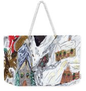 A Mountain Village Weekender Tote Bag