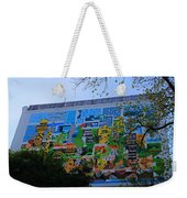 A Mural On The San Antonio Riverwalk Weekender Tote Bag