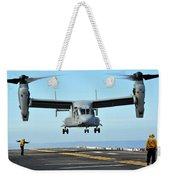 A Mv-22 Osprey Aircraft Prepares Weekender Tote Bag