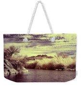 A Mystical River View Weekender Tote Bag