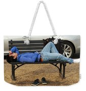A Nap In The Park Weekender Tote Bag
