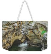 A Natatorium By The Cliff Weekender Tote Bag