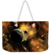 A Nebulous Star System In A Distant Weekender Tote Bag