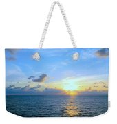 A New Dawn At Sea Weekender Tote Bag