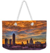 A New Day Atlantic Station Sunrise Weekender Tote Bag