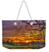 A New Day Dawns Weekender Tote Bag