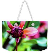 A New Day Weekender Tote Bag by Jessica Manelis